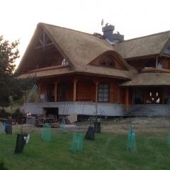 Trzcina na dachu - strzecha